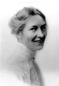 Portrait of Phoebe Waterman Haas